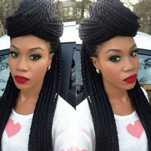 Havana Mambo Twist Crochet Braid Hair 18'' 70g/pack Synthetic Crochet Braids senegalese Twists Hair Extensions