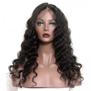 72H Delivery Natural Color Loose Wave Brazilian Virgin Lace Front Human Hair Wig