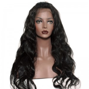 360 Lace Wigs Body Wave Brazilian Full Lace Human Hair Wigs Natural Hair Line 180% Density
