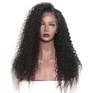 250% High Density Glueless Lace Front Human Wigs with Baby Hair for Black Women Natural Hair Line