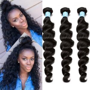 Loose Wave Brazilian Virgin Hair 3 Pcs Brazilian Hair Weave Bundles 8A Honey Beauty Hair Products Curly Human Hair Extensions
