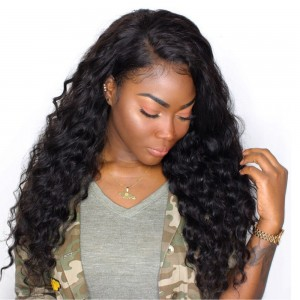 250% Density Wig Loose Wave Pre-Plucked Lace Front Human Hair Wigs With Baby Hair for Black Women Brazilian Virgin Hair