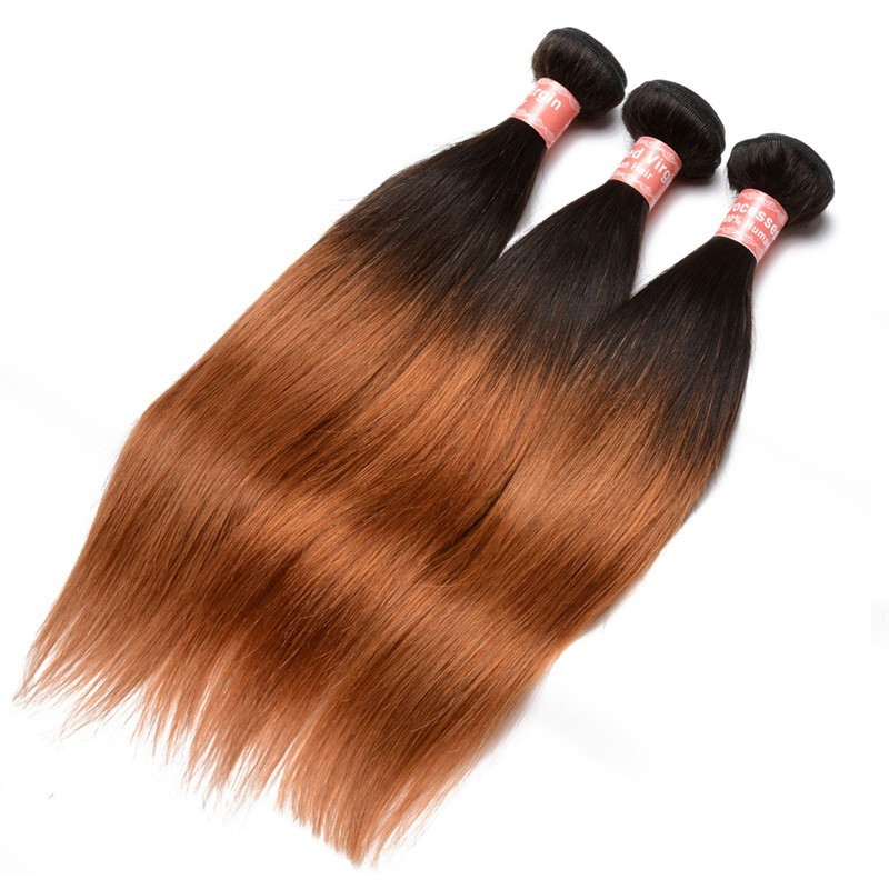 Silk straight 1b30 ombre color brazilian virgin human hair weave silk straight 1b30 ombre color brazilian virgin human hair weave 4 bundles solutioingenieria Images