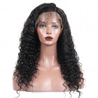13x6 Deep Part Brazilian Loose Curly Lace Front Human Hair Wigs With Baby Hair Pre Plucked 150% Density Lace Front Wig