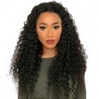 360 Lace Wigs 180% Density Full Lace Human Hair Wigs 8A Brazilian Hair Deep Wave Human Hair Wigs