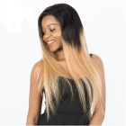 T1b/27 Colorful Honey Blonde 250% Density Lace Front Wigs Pre Plucked Brazilian Virgin Human Hair Straight Wigs Honey BeautyHair