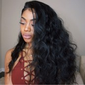250% Density Body Wave Wavy 8A Lace Front human Hair Wigs Brazilian Virgin Human Hair Glueless Lace Front  Wigs