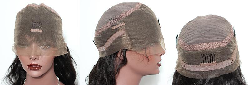 HoneyBeautyHair.com full lace wig cap,all lace,cap2