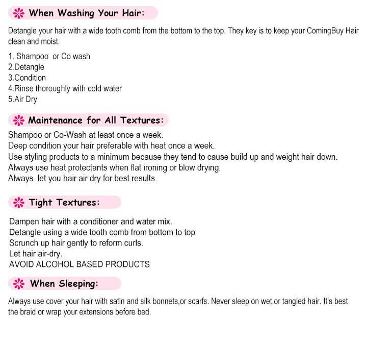 human hair care